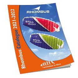Rhombus catalogue with kites and flying toys