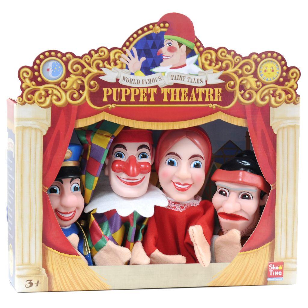 Hand Puppet 4 St. | Van der Meulen