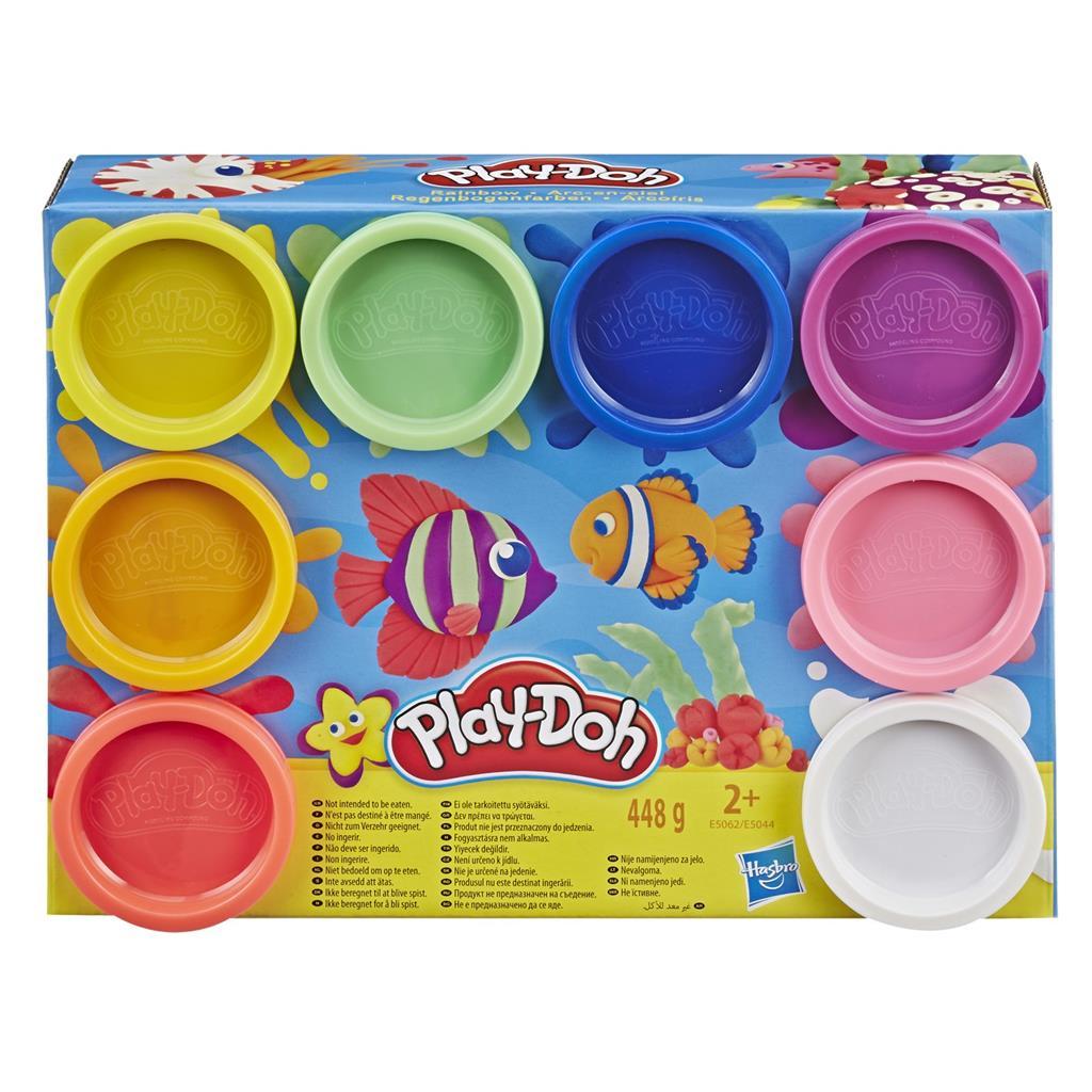 PLAY-DOH - პლასტილინის ნაკრები 8 ცალი