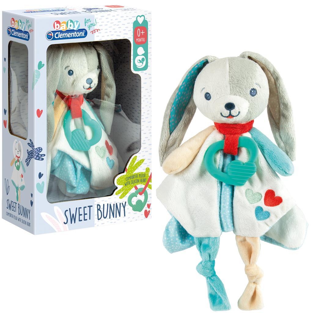 Baby Clementoni-რბილი ჩვილის ბაჭია