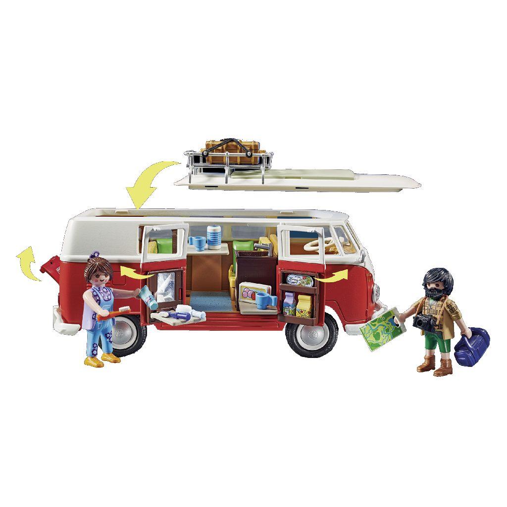 Playmobil 70176 Vw Bulli T1 Van Der Meulen